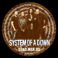 System Of A Down Russian Round Poster
